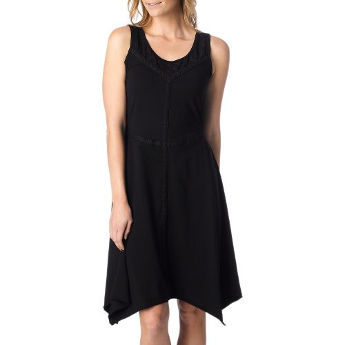 Womens Prana Trixie Dress Fitness Skirts - Black XS