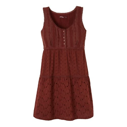 Womens Prana Kendall Dress Fitness Skirts - Raisin S