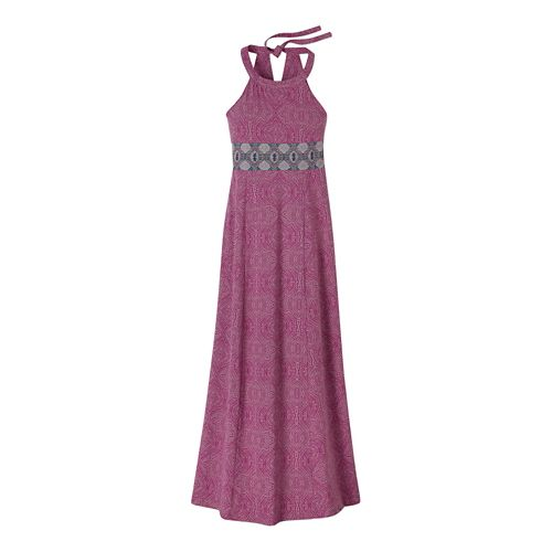Womens Prana Skye Dresses - Rich Fuchsia M