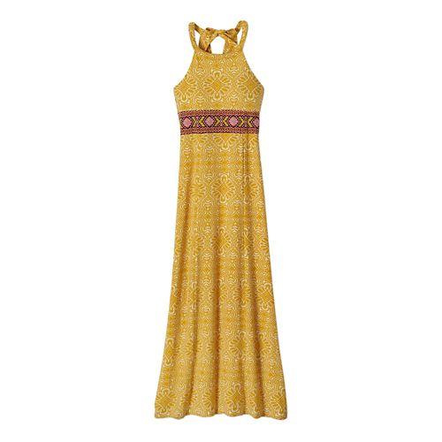 Womens Prana Skye Dress Fitness Skirts - Marigold S