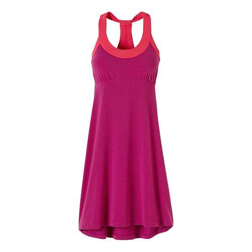 Womens Prana Cali Dresses - Rich Fuchsia XS