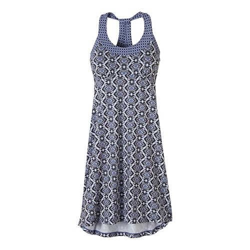 Womens Prana Cali Dress Fitness Skirts - Neon Orange XS
