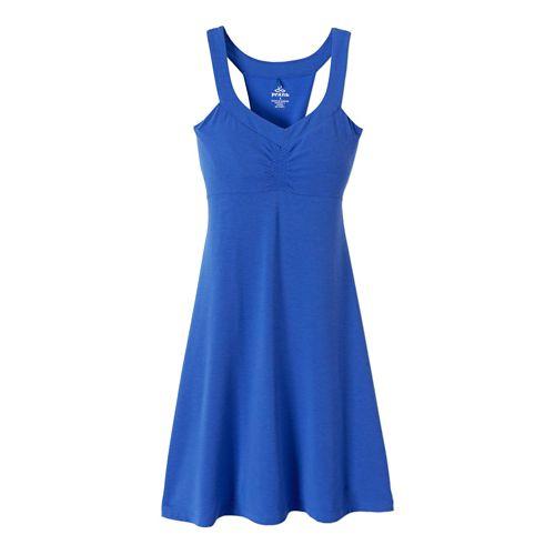Womens Prana Shauna Dress Fitness Skirts - Blue Jay XS