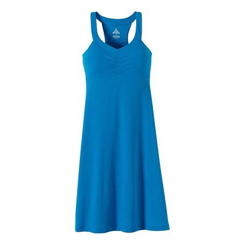 Womens Prana Shauna Dresses - Electro Blue S