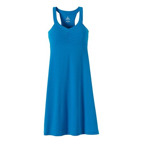 Womens Prana Shauna Dresses - Electro Blue XS