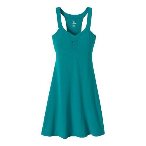 Womens Prana Shauna Dress Fitness Skirts - Sea Green S