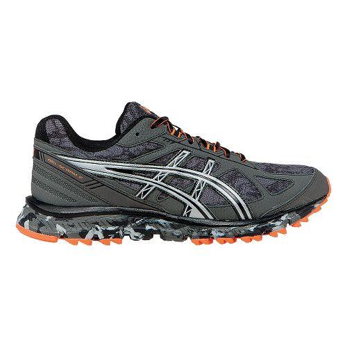 Mens ASICS GEL-Scram 2 Trail Running Shoe - Grey/Silver 12