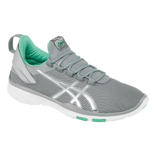 Womens ASICS GEL-Fit Sana 2 Cross Training Shoe - Grey/Lightning 10