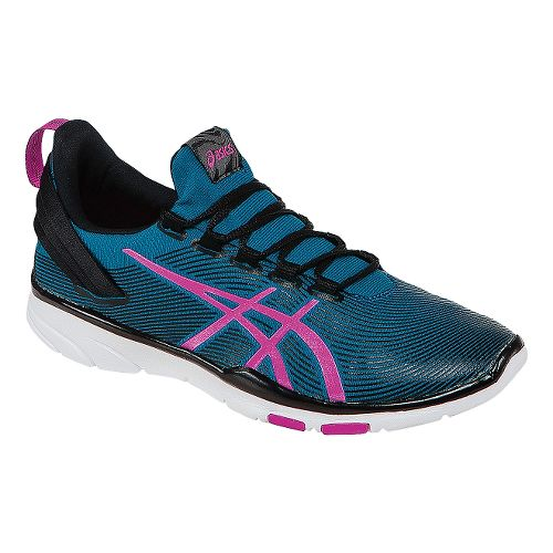 Womens ASICS GEL-Fit Sana 2 Cross Training Shoe - Blue/Pink 12