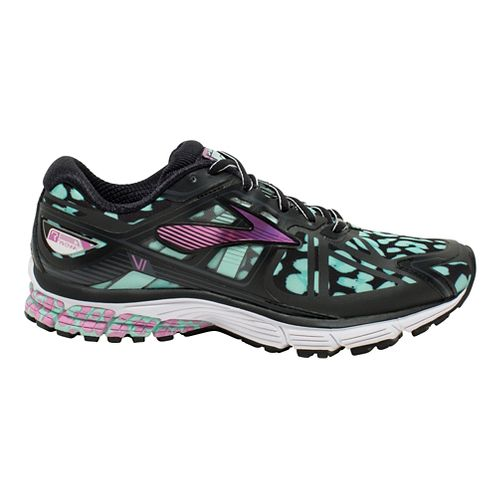 Womens Brooks Ravenna 6 Urban Jungle Running Shoe - Black/Ice 7