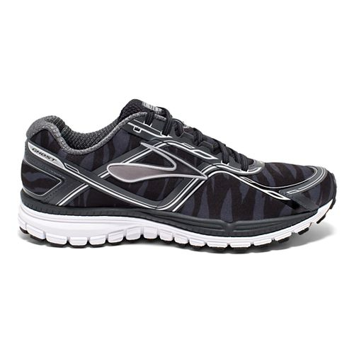 Mens Brooks Ghost 8 Urban Jungle Running Shoe - Black 10