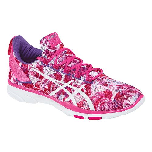 Womens ASICS GEL-Fit Sana 2 PR Cross Training Shoe - Pink/White 9.5