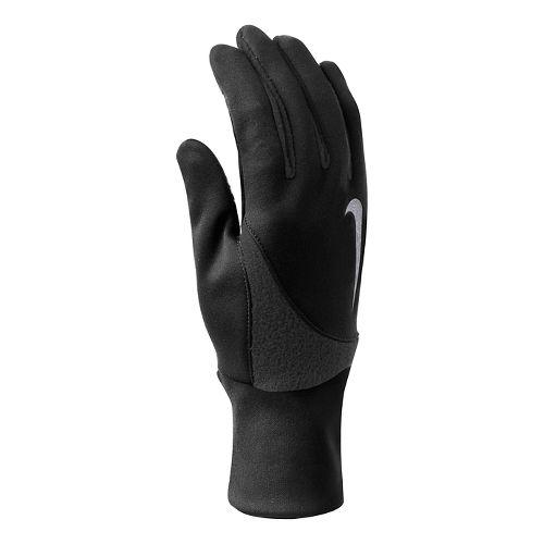 Mens Nike Element Thermal 2.0 Run Gloves Handwear - Black Anthracite L