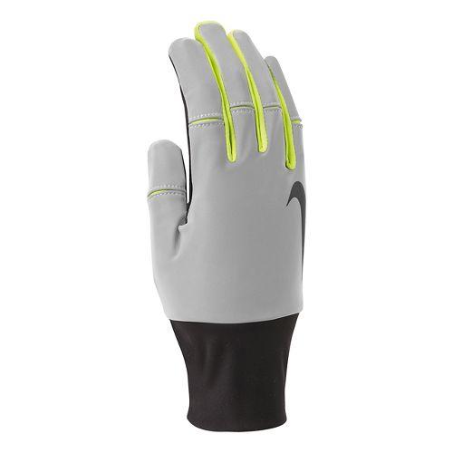 Mens Nike Vapor Flash 2.0 Run Gloves Handwear - Anthracite/Black L