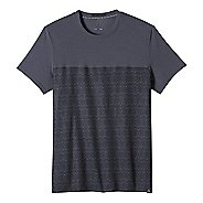 Mens prAna Ridge Tech T Short Sleeve Technical Tops
