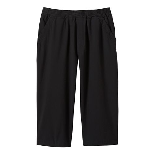 Mens Prana Kolpa Knicker Capri Pants - Black XXL