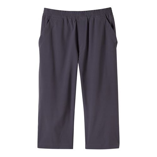 Mens Prana Kolpa Knicker Capri Pants - Coal XXL
