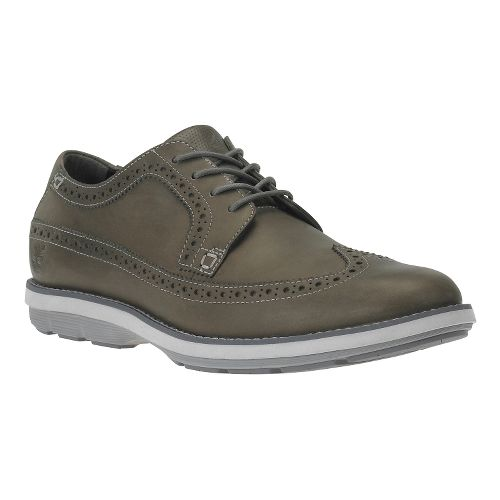Mens Timberland EK Kempton Brogue Ox Casual Shoe - Grey Nubuck 11.5