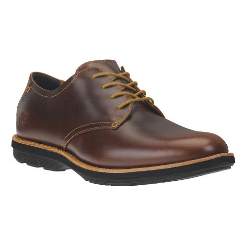Mens Timberland EK Kempton Oxford Casual Shoe - Brown Full-Grain 9.5