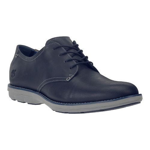 Mens Timberland EK Kempton Oxford Casual Shoe - Navy Full-Grain 12