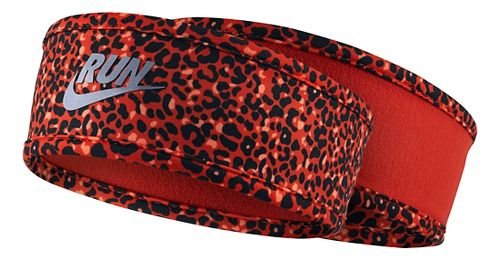 Womens Nike Run Lotus Headband Headwear - Light Crimson