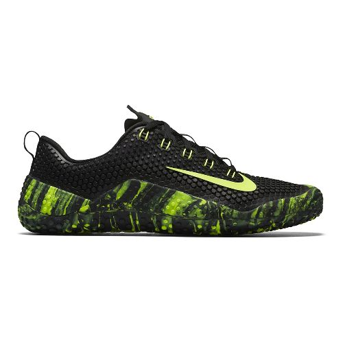 Mens Nike Free Trainer 1.0 Cross Training Shoe - Volt/Black 12.5