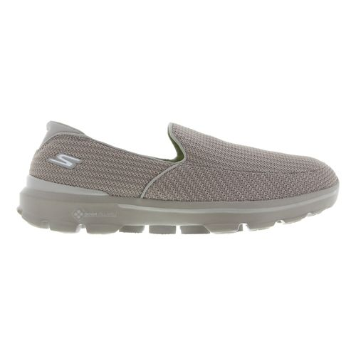 Mens Skechers GO Walk 3 Casual Shoe - Stone 9
