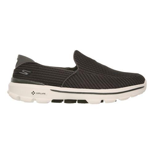Mens Skechers GO Walk 3 Walking Shoe - Olive 8.5