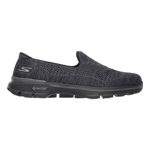 Womens Skechers GO Walk 3 Walking Shoe - Black 6