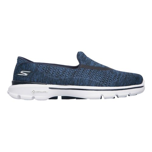 Womens Skechers GO Walk 3 Walking Shoe - Navy 7