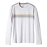 Mens prAna Calder Long Sleeve Technical Tops