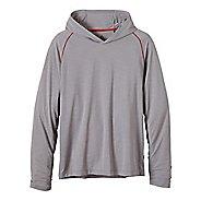 Mens prAna Calder LS Hoodie & Sweatshirts Technical Tops