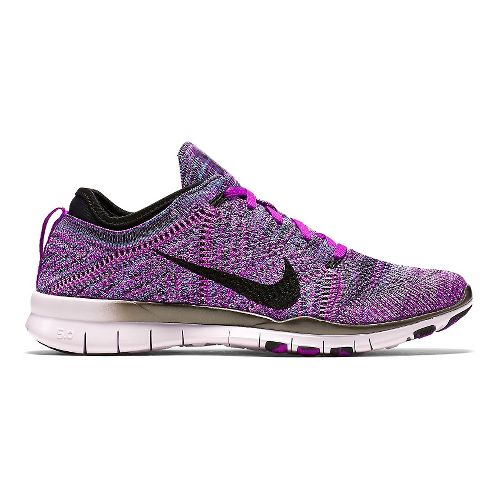 Womens Nike Free TR Flyknit Cross Training Shoe - Purple 9.5