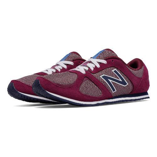 Womens New Balance 555v1 Casual Shoe - Magenta 8
