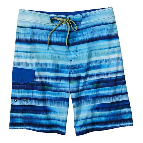 Mens Prana Seaton ShortSwim - Blue 28