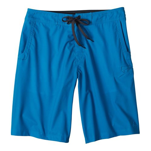 Mens Prana Beacon ShortSwim - Danube Blue 34
