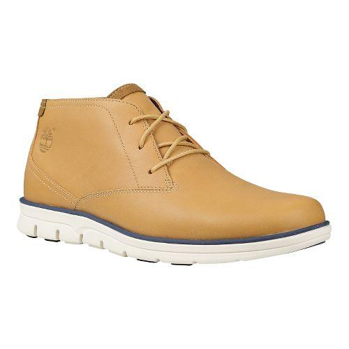 Mens Timberland EK Bradstreet Plain Toe Chukka Casual Shoe - Light Brown 11.5