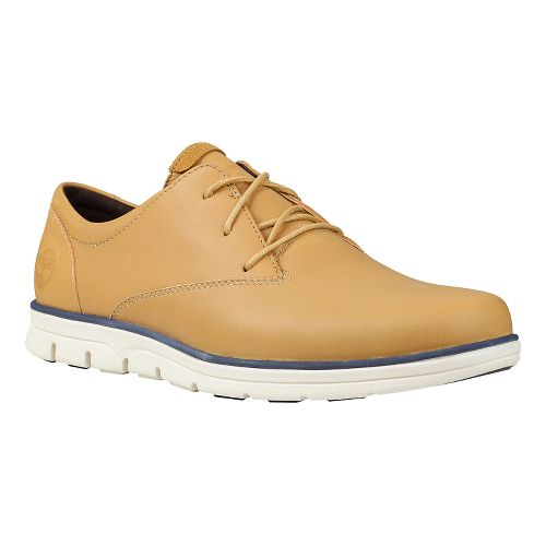 Mens Timberland EK Bradstreet Plain Toe Oxford Casual Shoe - Light Brown 11