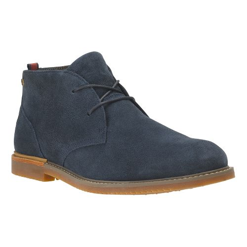 Mens Timberland EK Brook Park Chukka Casual Shoe - Navy Suede 9.5