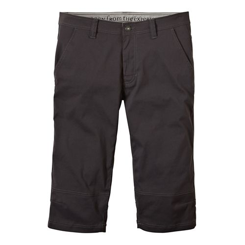 Mens Prana Menace Knicker Capri Pants - Charcoal 30