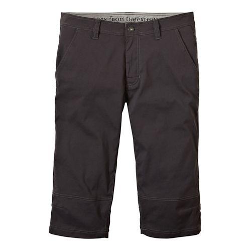 Mens prAna Menace Knicker Capris Pants - Charcoal 38
