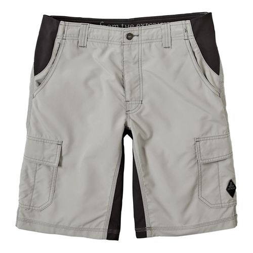 Mens Prana Doppler Unlined Shorts - Greystone 36