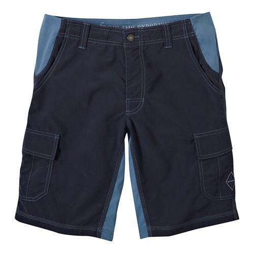 Mens Prana Doppler Unlined Shorts - Nautical 36