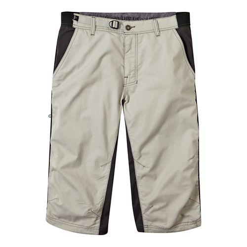Mens Prana Passage Knicker Capri Pants - Greystone XXL