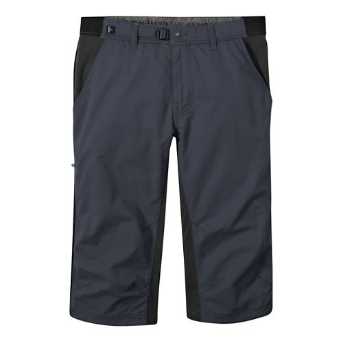 Mens Prana Passage Knicker Capri Pants - Coal L