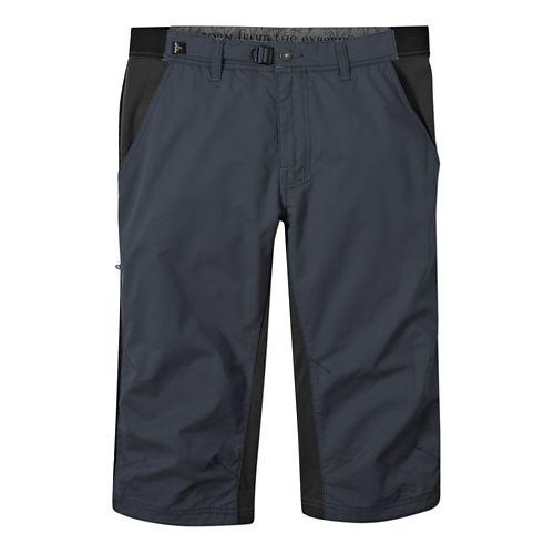 Mens Prana Passage Knicker Capri Pants - Coal S