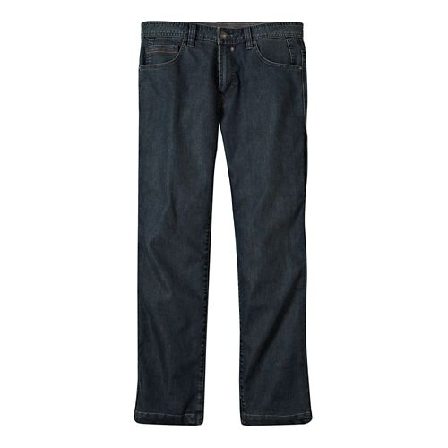 Mens Prana Modus Jean Full Length Pants - Antique Stone Wash 34