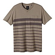 Mens prAna Breyson V Neck Short Sleeve Non-Technical Tops