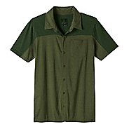 Mens Prana Knoven Short Sleeve Non-Technical Tops