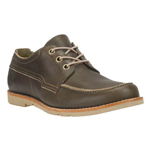 Mens Timberland EK Rugged LT Oxford Casual Shoe - Brown 8.5